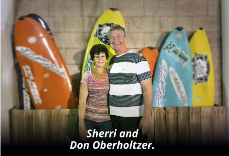 Sherri and  Don Oberholtzer.
